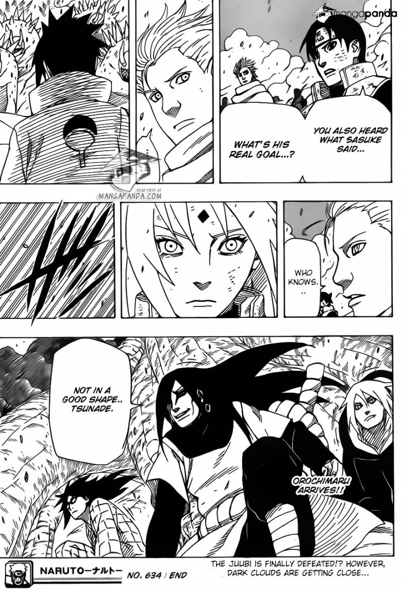 18, Naruto chapter 634   NarutoSub