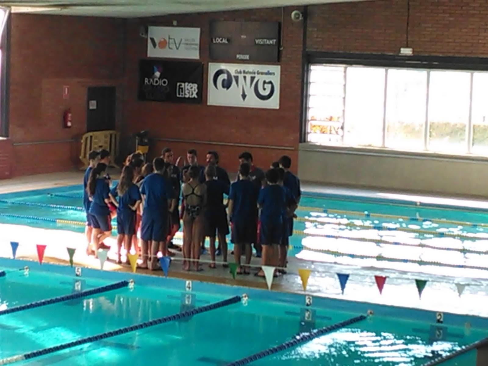 Blog andrea 2 jornada de lliga infantil de nataci for Piscina granollers