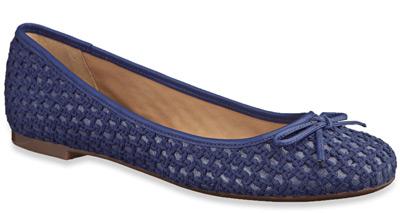 sapatilhas de crochê Arezzo verão