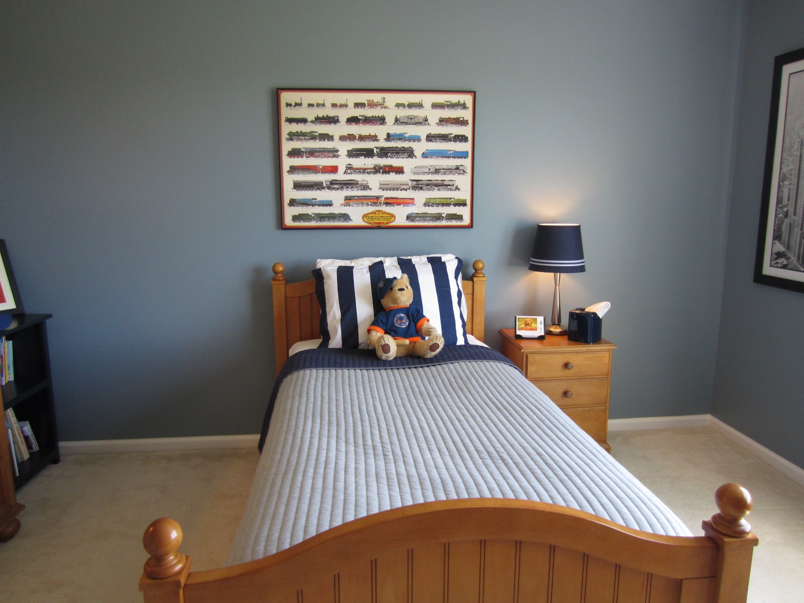 Boys Blue Bedroom Makeover Construction Haven Home Business. Boys Gray Bedroom   qr4 us