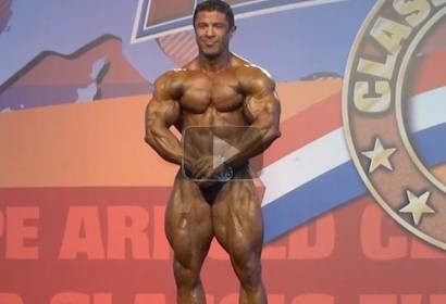 Edsom Serafim Poses Routine at ACE 2013, Master Bodybuilding.