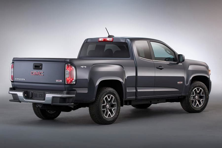 2015 Gmc Canyon Pick-up Unveiled