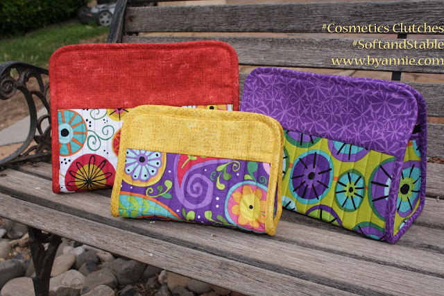 Blogs by Annie: Handmade for the Holidays: Cosmetics Clutches