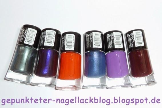 Gepunkteter-nagellackblog Lacke In Farbe ...und Bunt! - Petrol | New In
