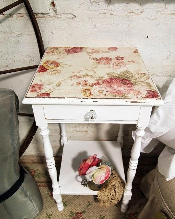 7 najciekawszych stołów decoupage - inspiracje! Styl vintage i shabby chic w decoupage.