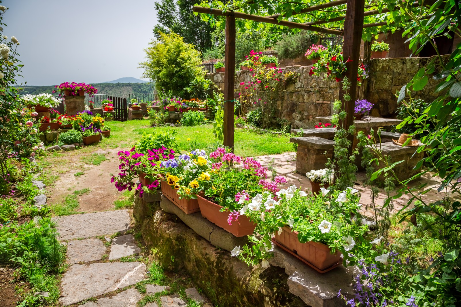 Plantas flores y jardines exuberantes 14 ideas decorativas