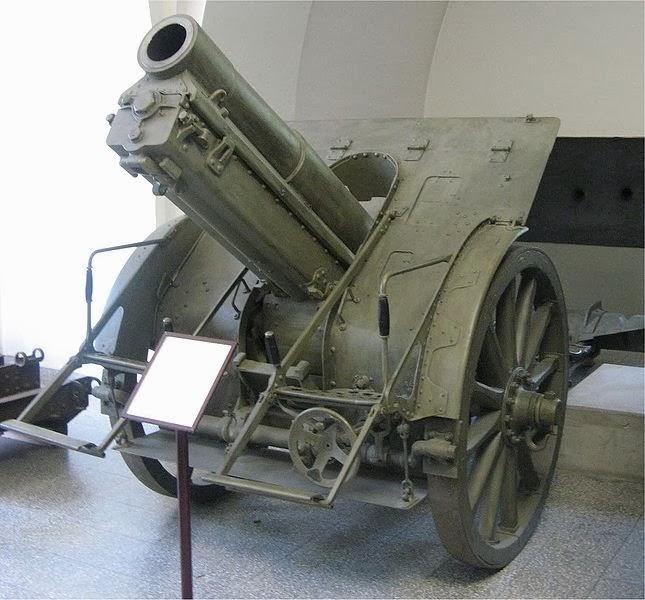 Skoda 15 cm field howitzer M1914