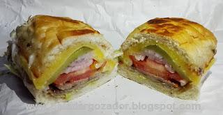 La Ruta de la Milanesa Sandwich Napoles