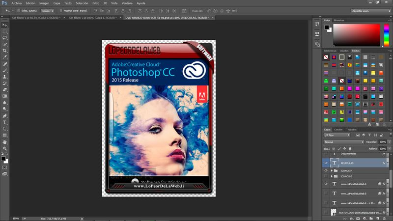 Adobe Photoshop CC 2015 v16 Multilenguaje 32 y 64 Bits Mega