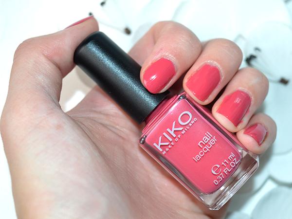 Nails of the day - Kiko 486