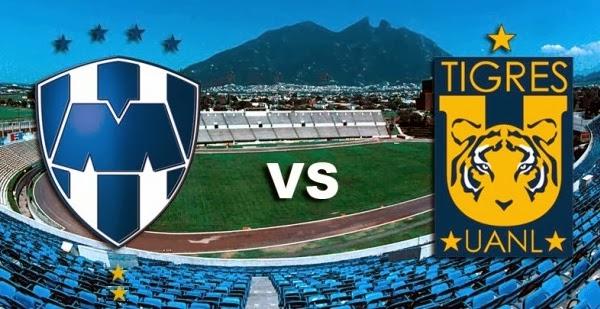 Liga MX - Rayados Monterrey vs Tigres UANL - En Vivo