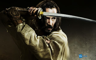 Keanu Reeves with Katana 47 Ronin HD Wallpaper