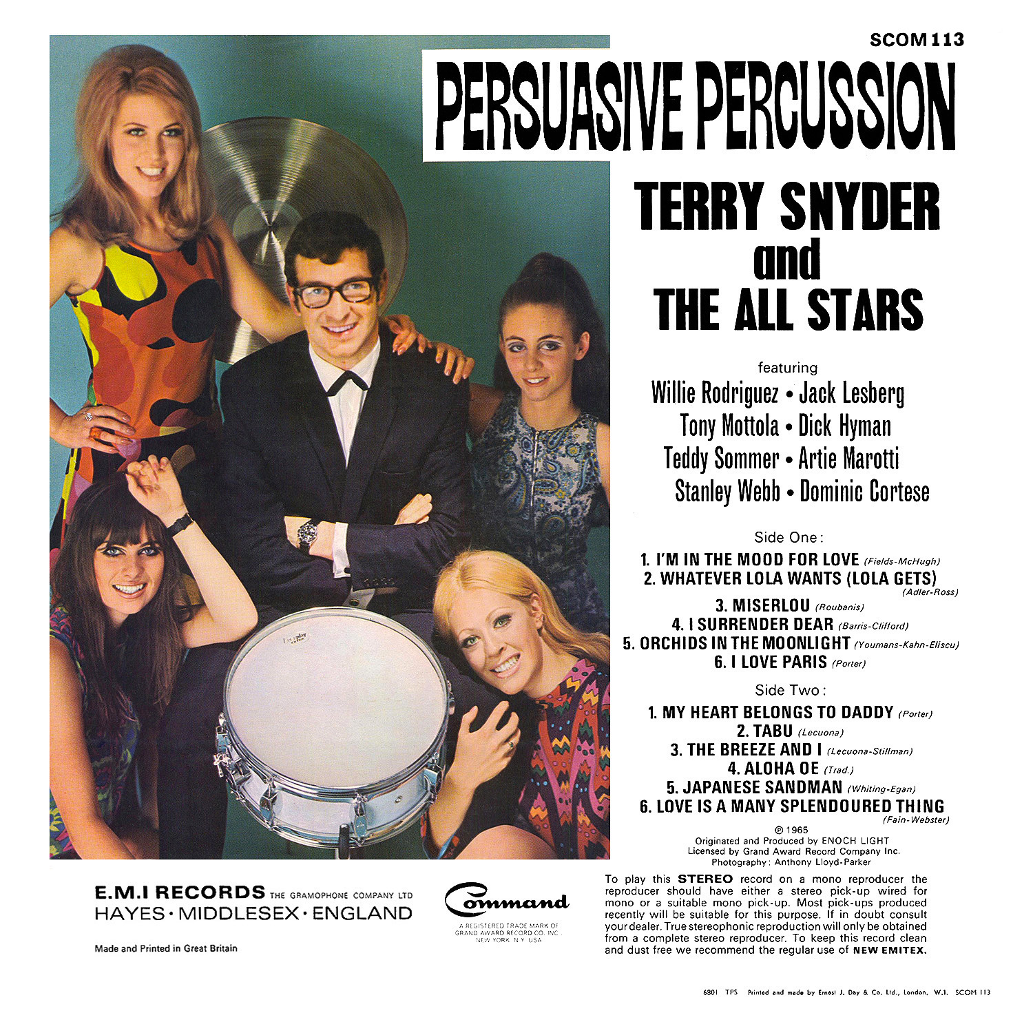 Terry Snyder And The All Stars - La Cucaracha