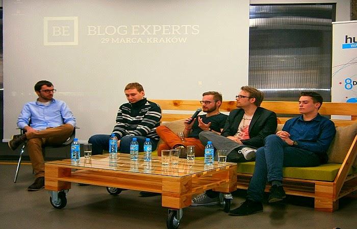 Obraz: Konrad Kruczkowski, Kuba Dębski, Jan Urbanowicz, Jacek Napora, Dawid Adamek na #BlogExperts