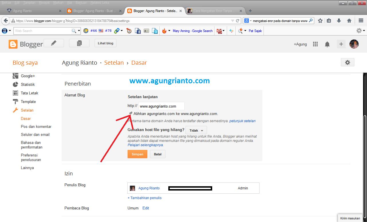 Cara Mengatasi Error 404 pada domain