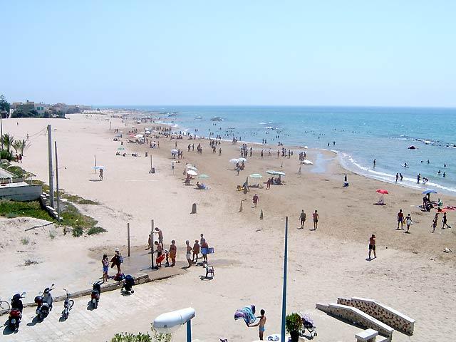 I luoghi del commissario montalbano marinella il for Disegni della casa sulla spiaggia