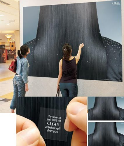17 Clever and Creative Shampoo Advertisements. | 425 x 500 jpeg 35kB