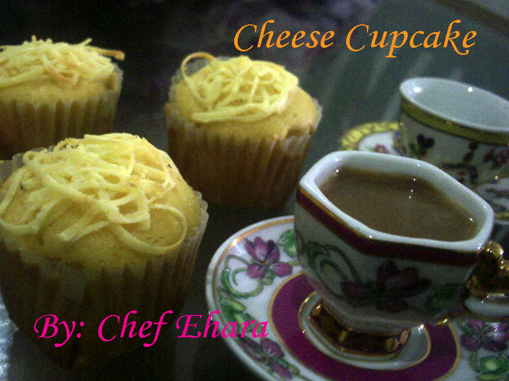 resep cheese cupcake