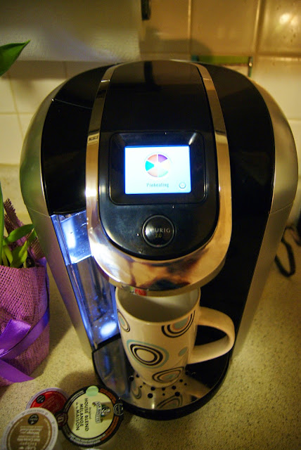 Keurig 2.0 Brewing System, Carafe, and K-Cups, lifestyle, food, drink, coffee, review, the purple scarf, melanie.ps, toronto, ontario, canada, influenster, touchscreen