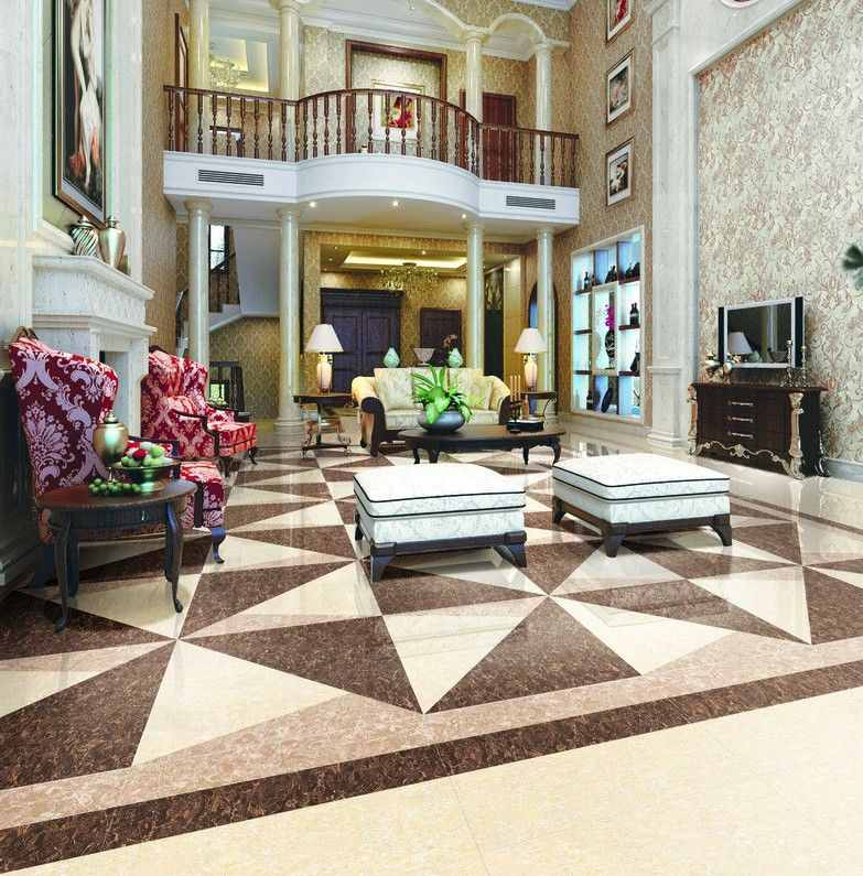 Marble flooring types price polishing designs and expert tips for Living room floor designs pictures