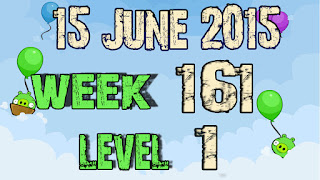 Angry Birds Friends Tournament level 1 Week 161