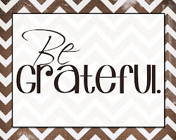 Be Grateful Printable