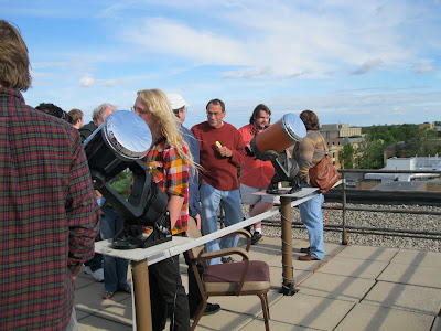 BGSU Observatory Transit of Venus open house event