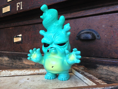 "Circus Posterus x Tomenosuke ""Tide Pool"" Stinky Ginger Vinyl Figure by Chris Ryniak"