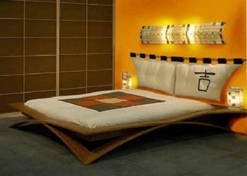 habitación estilo oriental