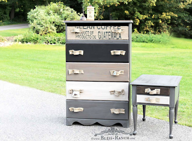 Trash To Treasure Dresser Nightstand, Bliss-Ranch.com