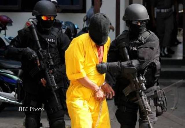 Polri Tangkap DPO Terduga Teroris di Banyumas