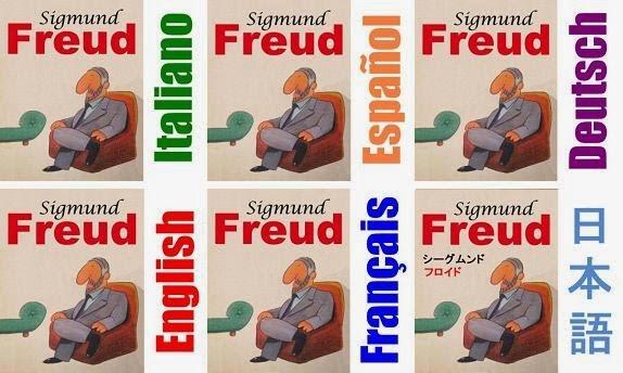 Sigmund Freud in 6 lingue