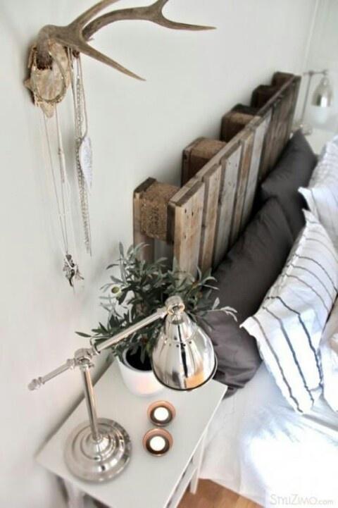 cabecero de cama de pale´s estilo nórdico