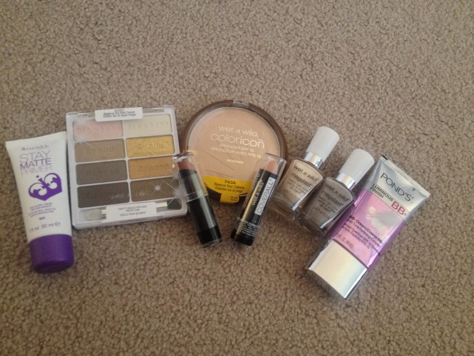 Urban Mannequin Walgreens And Target Haul Wet N Wild Rimmel Megalast Ponds