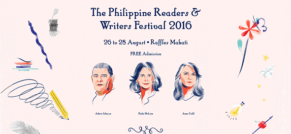 The Philippine Readers and Writers Festival 2016