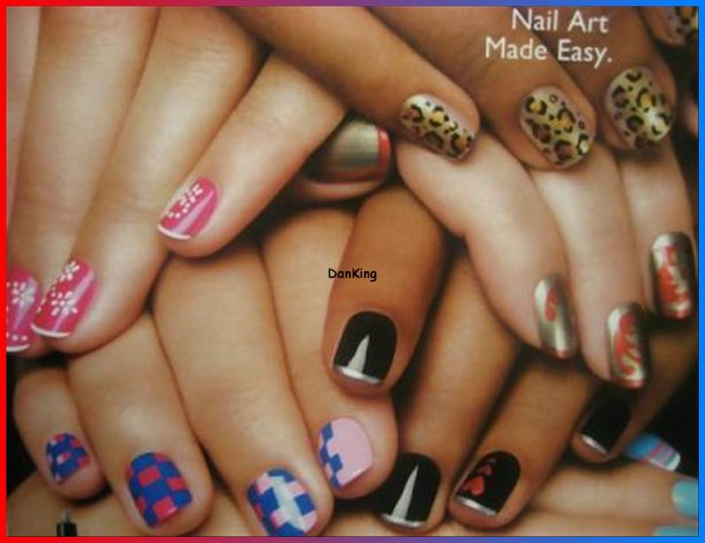 Nail Art Pens Make Professional Nail Art Easy