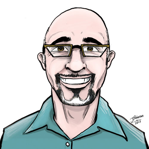 John Linton Roberson - Illustration of HD+ CEO for Spirolab