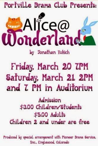 3-20/21 Portville Drama Club Presents: