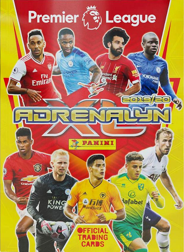 Premier League 2019//20 ADRENALYN XL Starter Pack álbum