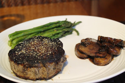 how to cook thick filet mignon on gas grill