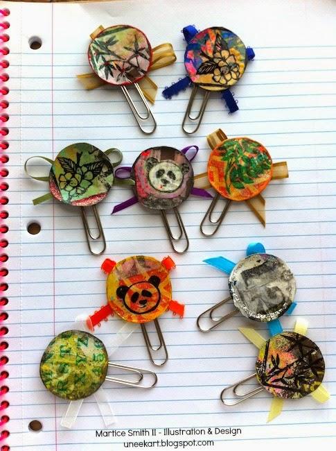 TUTORIAL:Brilliant Paper Clips Uneek Art Blog