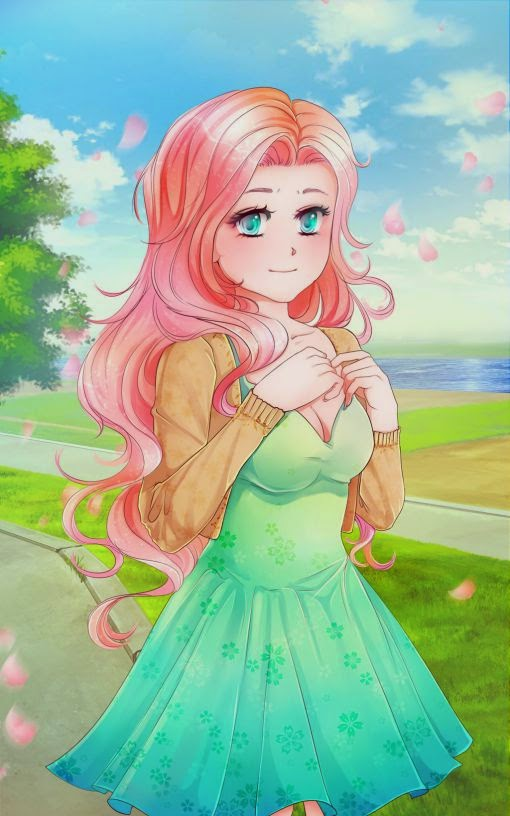 Hope you like Fluttershy done in Sai & MangaStudio