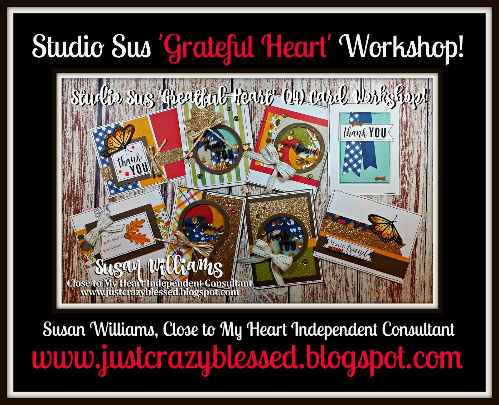 'Grateful Heart' Cardmaking Workshop!