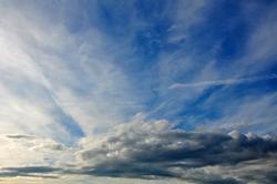 Weißblauer Himmel...