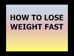 How to Lose Weight Really Fast in 3 Easy Steps