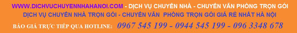 Dịch vụ chuyển nhà - Chuyển văn phòng trọn gói Phát Đạt 0967 545 199 - 0944 545 199 - 096 3348 678