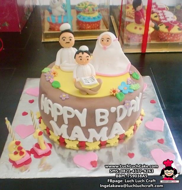 Kue Tart Ulang Tahun Tema Mengaji