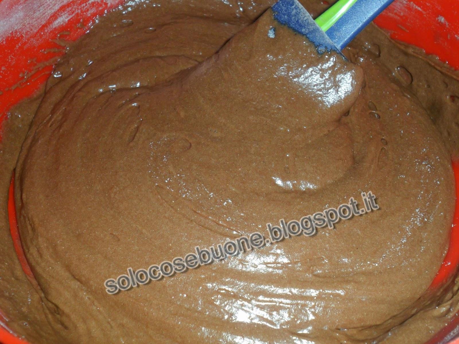 Torta al cacao con cuore morbido alla nutella ricetta ed - Bagno nella nutella ...