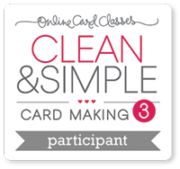 Online Card Class Clean and Simple