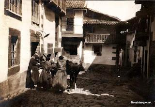 Calle Enrique Fraile de Candelario Salamanca en 1932